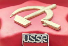 Soviet Cake Royalty Free Stock Images