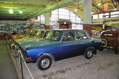 Soviet car Moskvich 2140 Royalty Free Stock Images