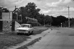 Soviet car Stock Image