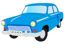 Soviet car Volga Stock Photography