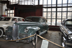 Soviet car ZIS 110 Cabrio Royalty Free Stock Images