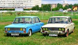 Soviet cars Royalty Free Stock Photo