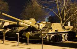 Soviet casemate-style tank destroyer SU-100 Royalty Free Stock Images