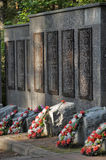Soviet cemetery Royalty Free Stock Photos