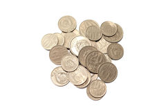 Soviet coins eighties Royalty Free Stock Photo