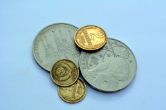 Soviet coins Stock Images