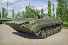 Soviet combat car infantry BMP-1,  produced from 1966 Royalty Free Stock Images