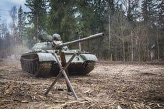 Soviet combat tank T55 Stock Images