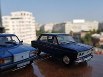 Soviet diecast cars Stock Photography