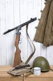 Soviet equipment of World War Two Stock Image