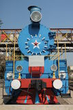 Soviet era Steam Train Royalty Free Stock Photo