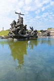 Soviet era World War II memorial in Kiev Ukraine Royalty Free Stock Images