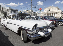 Soviet Executive car the Seagull party rally of classic and vintage cars Stock Image