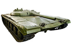 Soviet experimental missile tank Object 775 isolated Royalty Free Stock Photo