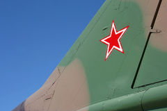 Soviet fighter plane Stock Image