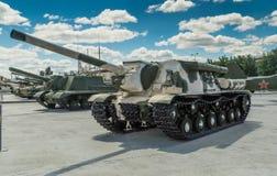 The Soviet fighting tank Royalty Free Stock Photos