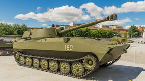 The Soviet fighting tank Royalty Free Stock Images