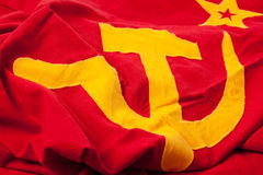 Soviet flag Royalty Free Stock Photo