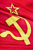 Soviet flag Royalty Free Stock Image
