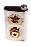 Soviet flask Royalty Free Stock Photo