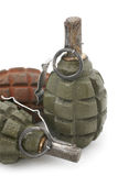 Soviet hand grenades Royalty Free Stock Images
