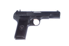 Soviet handgun TT (Tula, Tokarev) Royalty Free Stock Photo
