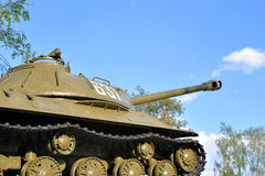 IS-3 - Soviet heavy tank development period of the Great Patriotic War. Royalty Free Stock Photo