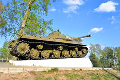 IS-3 - Soviet heavy tank development period of the Great Patriotic War. Stock Images