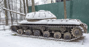 Soviet heavy tank IS-3 (Object 703.Years of production 1945-1946 Stock Image