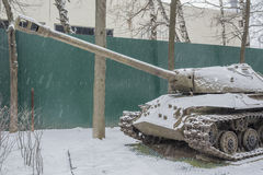 Soviet heavy tank IS-3 (Object 703.Years of production 1945-1946 Royalty Free Stock Photo