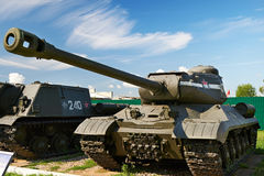 Soviet heavy tank IS-2  of World War II Royalty Free Stock Photography