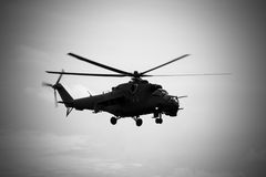 Soviet helicopter Mi-24 Hind Royalty Free Stock Photography