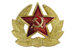 Soviet insignia Stock Photo