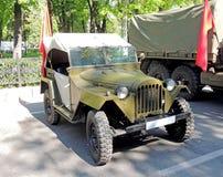 Soviet jeep GAZ-67 Stock Images