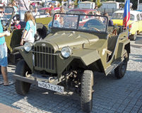 Soviet jeep GAZ-67 Royalty Free Stock Photography
