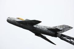 Soviet jet fighter memorial Royalty Free Stock Image