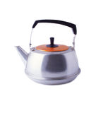 Soviet Kettle in Profile Royalty Free Stock Images