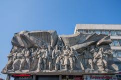 The soviet landmarks of Minsk, Belarus royalty free stock image