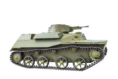 Soviet light amphibious tank T-40. Stock Photography