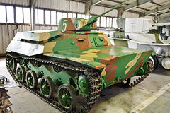 Soviet light infantry tank T-30 Royalty Free Stock Photography