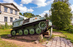 Soviet light semi armored tracked artillery tractor AT-P Royalty Free Stock Photography