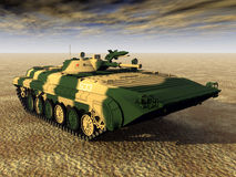 Soviet Light Tank Stock Image