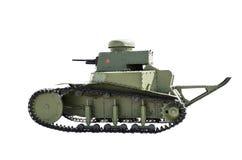Soviet light tank T-18 Stock Photo