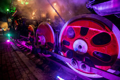 Soviet locomotive train Royalty Free Stock Photo