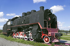 Soviet locomotive was built in the years 1933-1944 Royalty Free Stock Photo