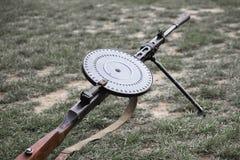 Soviet machine gun (Degtyaryov) Stock Photo