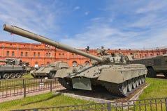 Soviet main battle tank T-80 Royalty Free Stock Photo