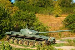 Soviet main battle tank T-72. Stock Image