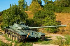 Soviet main battle tank T-72. Stock Photo
