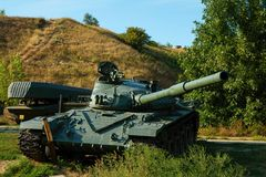 Soviet main battle tank T-72. Stock Photos